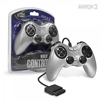 PS2 Kabel Gamecontroller (Silber) - Armor3