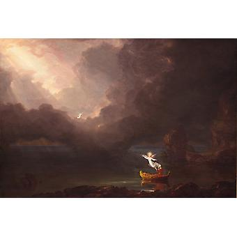 The Voyage of Life: Old Age, Thomas Cole, 60x40cm
