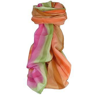 Maulbeere klassischen langen Seidenschal Dada Regenbogenpalette von Pashmina & Seide