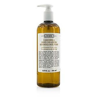 Caléndula de Kiehl's limpieza profundo lavado de cara que hace espuma - 500ml/16.9 oz