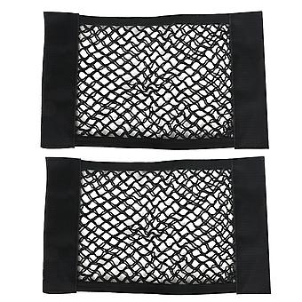 2PC CAR VELCRO STORAGE NETS