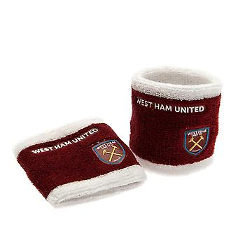 West Ham United FC officiels bracelets (ensemble de 2)