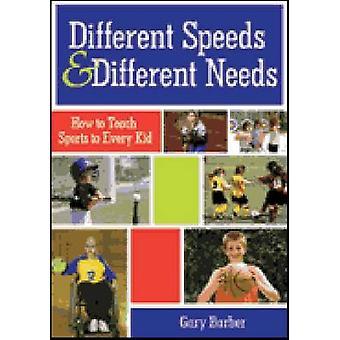 Verschillende snelheden en verschillende behoeften - hoe om te leren sport elke Ki