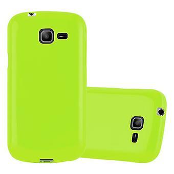 Cadorabo Case for Samsung Galaxy TREND LITE Case Cover - Flexible TPU Silicone Case Ultra Slim Soft Soft Back Cover Case Bumper