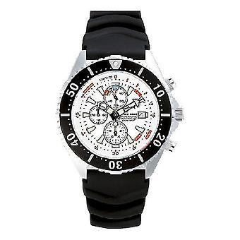 CHRIS BENZ - Diver Watch - DEPTHMETER CHRONOGRAPH 300M - CB-C300-W-KBS