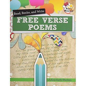 Läsa, recitera och skriva fri vers poesi (poetens Workshop)