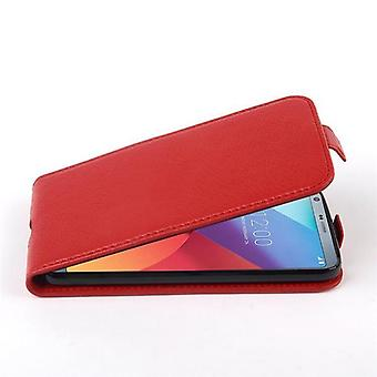 Cadorabo Hülle für LG G6 hülle case cover - Handyhülle im Flip Design aus strukturiertem Kunstleder - Case Cover Schutzhülle Etui Tasche Book Klapp Style