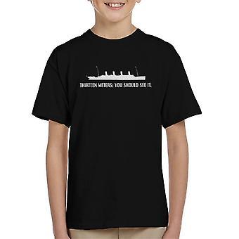 Titanic Movie Opening Line Kid's T-Shirt