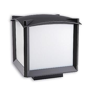 Mark Medium Outdoor Bollard Urban Grey - Leds-C4 10-9299-Z5-M3