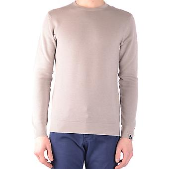 Paolo Pecora Ezbc059015 Men's Beige Wool Sweater