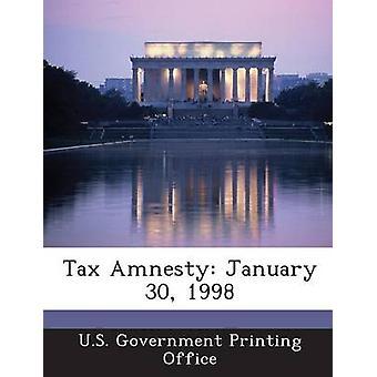 Steueramnestie 30. Januar 1998 von U. S. Regierung Druckbüro