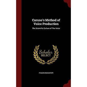 Carusos framställningsmetod röst den vetenskapliga kulturen röst av Marafioti & P Mario