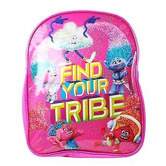 Les trolls des enfants trouver votre tribu rose sac à dos