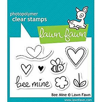 Lawn Fawn Clear Stamps Bee Mine (LF439)