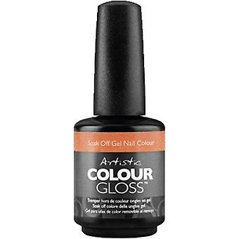 Artistic Colour Gloss Gel Nail Polish Collection - Crushed It (03256) 15ml
