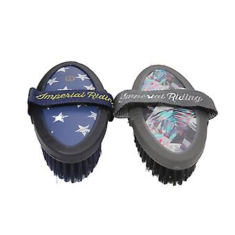 Imperial Riding Star Icon Body Brush