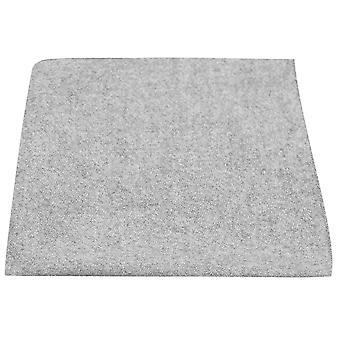 Stonewashed Medium Grey Pocket Square, Handkerchief