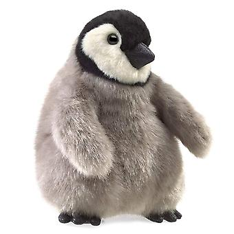 Hand Puppet - Folkmanis - Baby Emperor Penguin New Toys Soft Doll Plush 3126