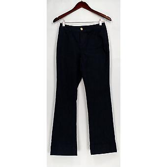 C. Wonder Petite Jeans Denim Boot Cut Fly Front Jeans Blue A286425