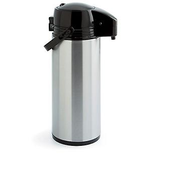 Quid Isothermal 1.9L stainless glass coffee xylon
