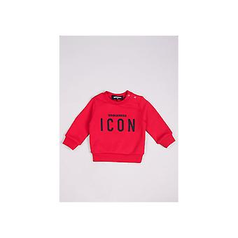 Dsquared2 Baby Side Ds2 Logo Long Sleeve T-shirt