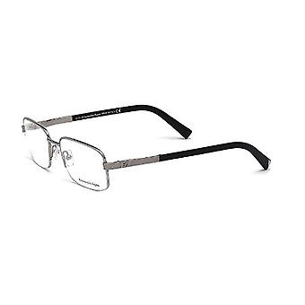 Zegna EZ5011-008 Optics Mens Eyeglasses Shiny Ruthenium Frames
