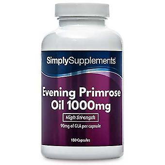 Ilta-primrose oil - 1000mg - 180 kapselit