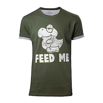 Super Mario T Shirt Baby Yoshi new Official Nintendo Mens Green