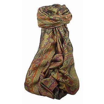 Herren Jamawar Premium Seide Schal Muster 4579 von Pashmina & Seide