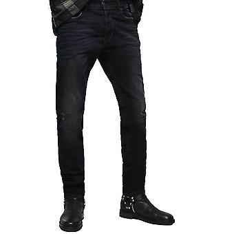 Diesel Tepphar 0679R Slim Fit Carrot Jeans   Wash