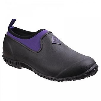 Muck laarzen Muckster II lage All Purpose lichtgewicht schoen zwart/paars