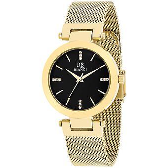 Roberto Bianci Femmes apos;s Cristallo Black Dial Watch - RB0408