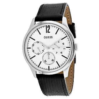 Guess Men's Regent White Dial Watch - W1041G4