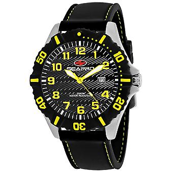 Seapro Men's Trooper Black Dial Watch - SP1512
