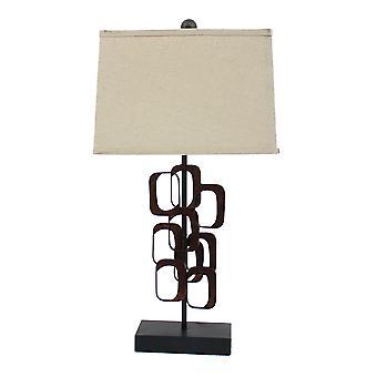 "13 ""x 15"" x 31 ""brons, traditionele tafel lamp"