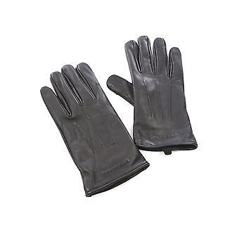 Emar leather gloves - REDSKINS