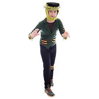 Flat-top Frankenstein Halloween Costume, Small