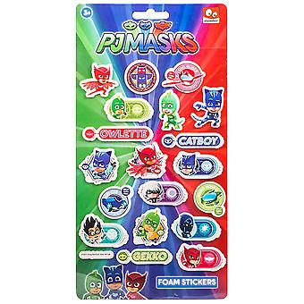 PJ Masks The Pajama Heroes Puffy Stickers Stickers