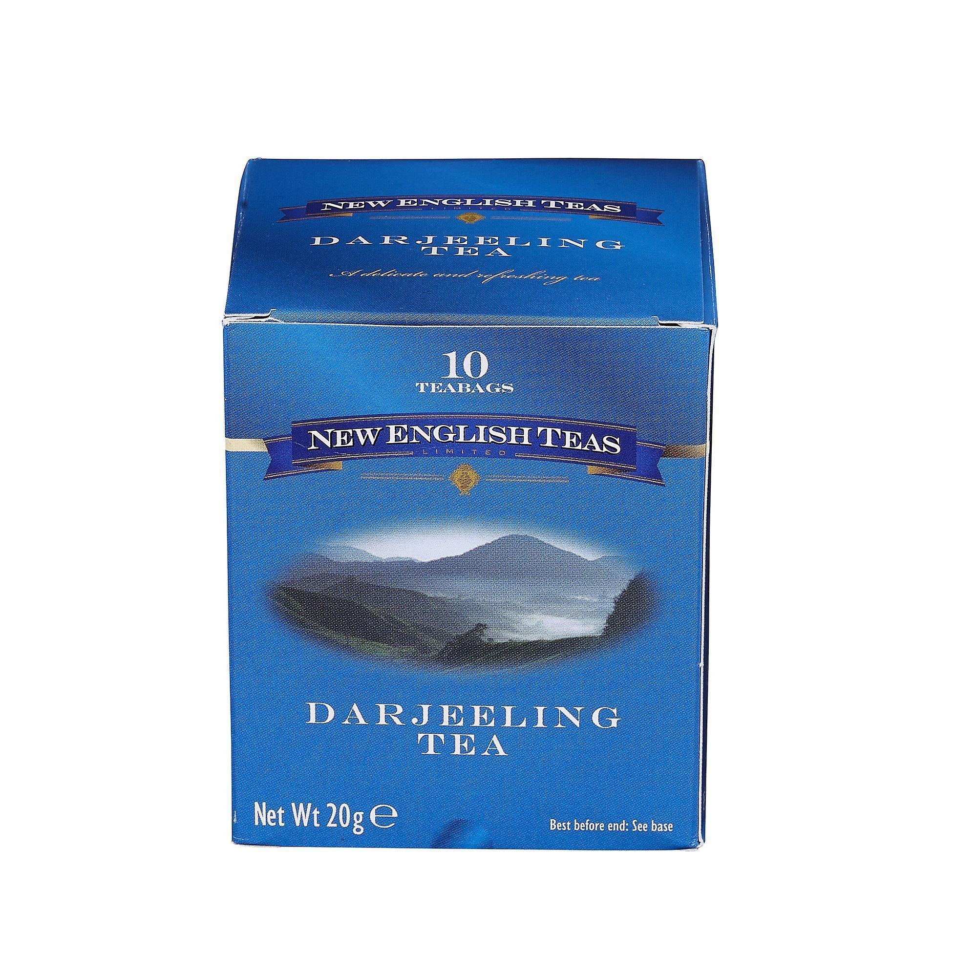 Classic darjeeling tea 10 individually wrapped teabags