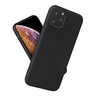 Matte zwarte softcase voor iPhone 11 Pro