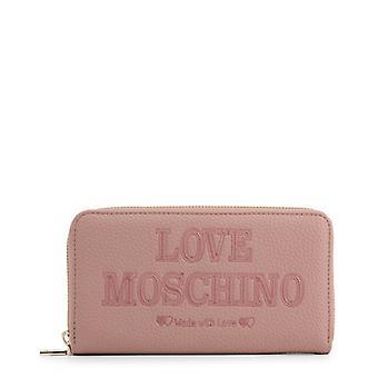 Amore moschino donne's portafoglio - jc5645pp08kn, rosa