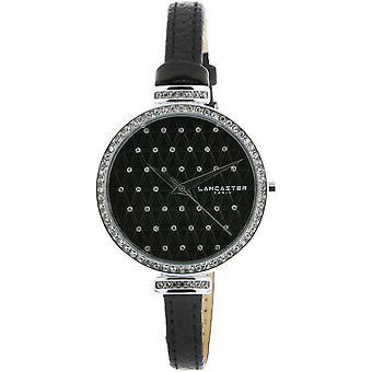 Lancaster watch watches Palace LPW00325 - watch leather black woman Palace