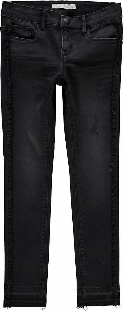 Name-It Zwarte Meisjes Jeans Polly