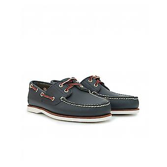 Timberland Footwear Eve Leather Boat Shoes