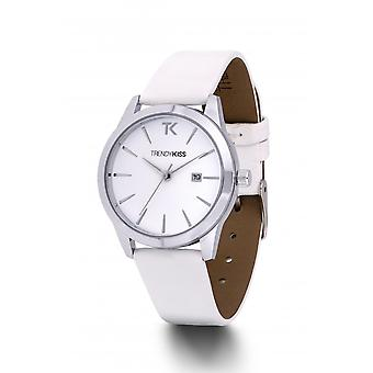 Watch Trendy Kiss TC10120-01 - brunette white and silver woman