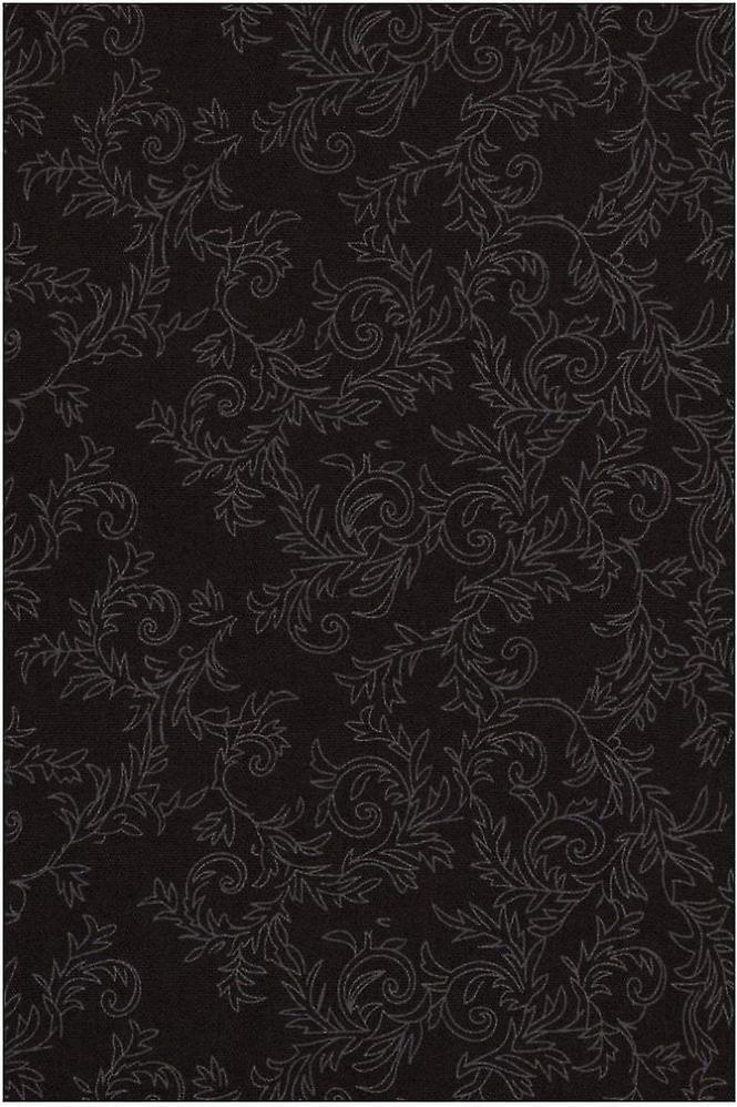 JSS Floral Black Regular Fit 100% Cotton Shirt