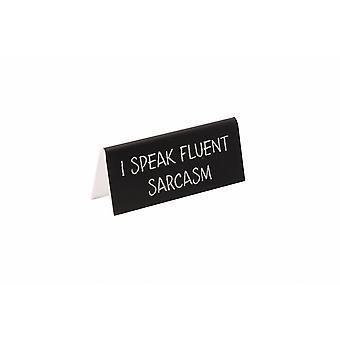 Strengt Business jeg snakker flytende sarkasme pulten tegn