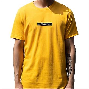 Hyperfly the box t-shirt yellow