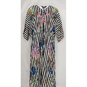 Tolani Dress Collection Imprimé Lined Tissé Maxi Noir A347012