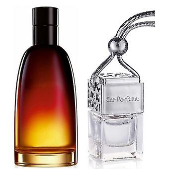 Christian Dior Fahrenheit For Him Inspired Fragrance 8ml Chrome Lid Bottle Hanging Car Vehicle Auto Air Freshener